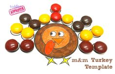 Toddler Approved!: {Thanksgiving Activities} M Turkey Template