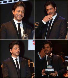 The Many Moods of Shah Rukh Khan at Dadasaheb Phalke Awards: Pics - India West: Bollywood India West, Bollywood Actors, Shahrukh Khan, Awards, Handsome, Mood, Film, Fictional Characters, Foundation