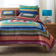 Sonnet Patchwork Quilt | The Company Store