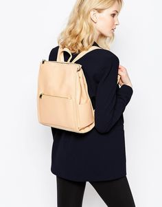 French Connection Coral Blush Backpack