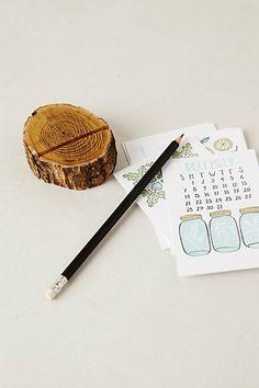 Letterpress Desk Calendar, by 1canoe2
