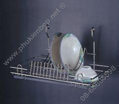 Kệ úp chén đĩa tủ bếp trên PK210