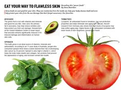"""Eat Your Way To Flawless Skin""  By: Dana Baardsen Click to see more!"