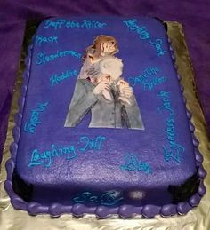 Slenderman birthday cake