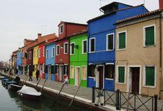 I colori dell'isola di Burano