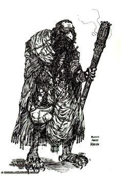 Disciples II - Гугин (уникальный юнит, нейтрал) - концепт-арт