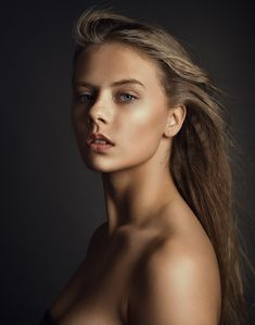 Portrait girl #343 - Model: Louise Haase Makeup / Hair:Chrstine Stephanie  My FB: http://facebook.com/nathanfoto
