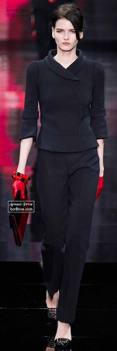 Armani Privé Haute Couture Fall Winter 2014-15 Collection #fallintofashion14 #mccallpatterncompany