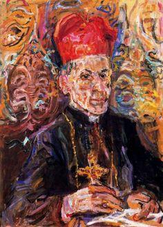 Oskar Kokoschka, Cardinal della Costa, 1948