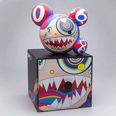 Buy and sell authentic Takashi Murakami and other limited edition collectibles on StockX, including the Takashi Murakami Murakami Mr. Dob Figure Red from Superflat, Takashi Murakami, Found Object Art, Science Fiction Art, Vinyl Toys, Naive Art, Custom Vinyl, Designer Toys, Street Art Graffiti