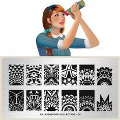 Plaque de Stamping MoYou-London - Nail art boutique
