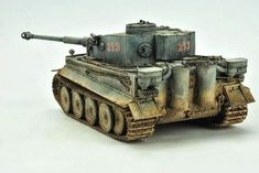 Tiger Mk I 1/48 Scale Model