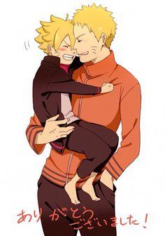 Awww Naruto e Boruto