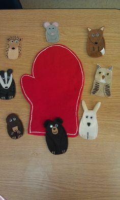 Our theme for Toddler Time today was MITTENS! And also CATS! Mystery Box: We found a mitten in the yellow box today! What color is our m. Flannel Board Stories, Felt Board Stories, Felt Stories, Flannel Boards, Winter Crafts For Toddlers, Toddler Crafts, Crafts For Kids, Felt Board Templates, Toddler Mittens
