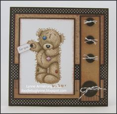 Tatty Teddy card