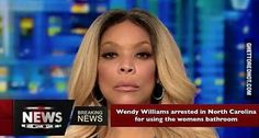 Wendy Williams arrested