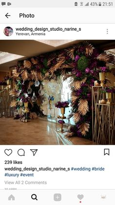 Shabby Chic Home Decor Wedding Stage Decorations, Backdrop Decorations, Backdrops, Archway Decor, Entrance Decor, Tropical Party, Floral Wall, Shabby Chic Homes, Plant Decor