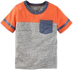 Oshkosh Bgosh Oshkosh Bgosh Boys Tops 22129610 Heather 4T Toddler -- More info could be found at the image url.Note:It is affiliate link to Amazon.