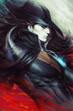 Vampire Hunter D Comic Cover by Artgerm.deviantart.com on @DeviantArt