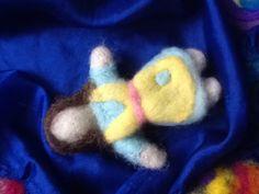 Needle felted doll 3