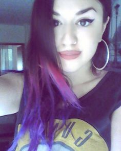 #purplehair #bluehair #crazy #colourful #me