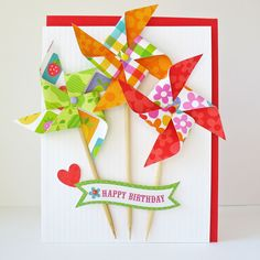 Happy Birthday by Kathy Martin for Doodlebug using Fruit Stand