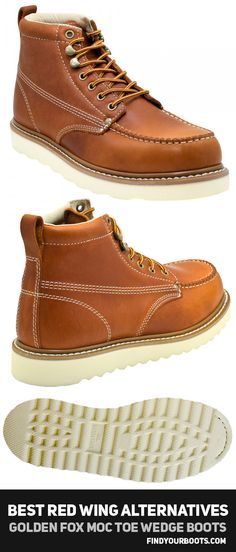 12baeef58678 12 Cheaper Alternatives to Red Wing Heritage Boots. Mens Work BootsWedge ...