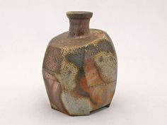 Bizen Sake Bottle http://www.japanesehandcraft.com