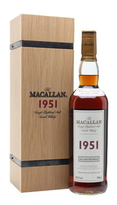 MACALLAN 1951 50 Yea