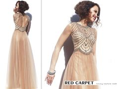Beaded Evening Gown  www.facebook.com/RedCarpetCouture abiye - gece elbisesi