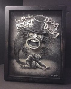 Cool Art: The Babadook Horror Quotes, The Babadook, Creepy, Scary, Psychological Horror, Classic Horror Movies, Sci Fi Horror, Panel Art, Hallows Eve