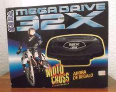 MEGA DRIVE 32X EDICIÓN MOTO CROSS CHAMPIONSHIP *NUEVA/NEW*