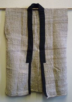 Hemp and cotton work coat: Sri, Brooklyn