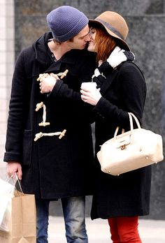 Emma Stone and Andrew Garfield-favorite hollywood couple! Sooo cute!