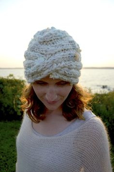 Sharmila Turban Hat Pattern by Knit Collage