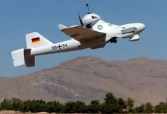 Luna is also used in Afghanistan, where it can fly up to four hours at a time.