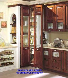 Angolo dispensa in cucina (foto da web) | Cucina | Pinterest ...
