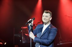 Sam Smith performs on stage at Eventim Apollo, Hammersmith on November 6, 2014 in London.