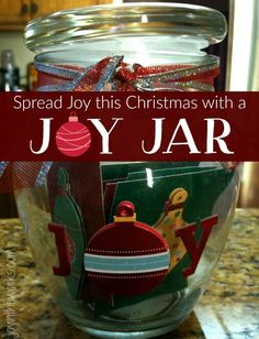 Give the gift of joy with a joy jar! A great class gift for the teacher or for kids to give grandparents or even parents! #diygifts #homemadegiftideas #givejoy #classgifts #teachergift #grandparentgift #neighborgift #giftidea #homemadegiftidea