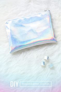 DIY Holographic Clutch - DIY Craft Kits, Monthly Craft Projects, Supplies, Subscription Box | Whimseybox