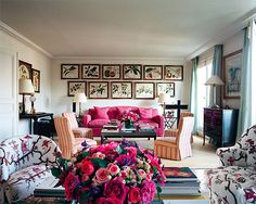{decor inspiration : lee radziwill's paris apartment} by {this is glamorous}, via Flickr