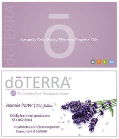 Four photo sample lavender doterra business card creative four photo sample lavender doterra business card creative essentials pinterest doterra business cards doterra and lavender cheaphphosting Image collections