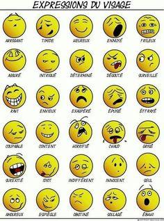 FLE : Vocabulaire des sentiments | mômes&...