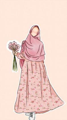 slamic anime ve tesett r Cute Muslim Couples, Muslim Girls, Muslim Women, Vector Character, Portrait Vector, Cover Wattpad, Muslim Pictures, Hijab Drawing, Islamic Cartoon