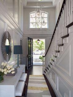 My Foyer layout exactly!!