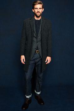 J.Crew Fall 2012 Menswear - I want a long coat!