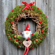 Check out our wreaths & door hangers selection for the very best in unique or custom, handmade pieces from our shops. Winter Christmas, Christmas Wreaths, Christmas Decorations, Xmas, Holiday Decor, Confetti, Diy, Home Decor, Door Hangings