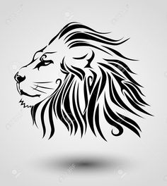 tribal lion - Google Search                                                                                                                                                     More