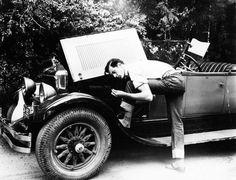 Gary Cooper and his Duesenberg