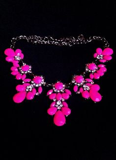"""Brand new neon plastic bling necklace pretending to be """"vintage"""" on reseller infested Etsy.  Buy it from the manufacturer here: http://www.aliexpress.com/item/Fashion-fashion-accessories-neon-candy-color-fresh-short-design-necklace/1353716668.html"""
